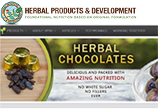thumbnail image - Herbal Products and Development home page